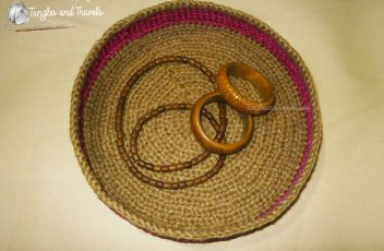 Jute and Cord Basket