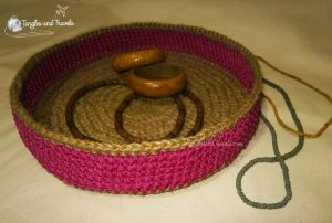 Jute String and Cord Basket