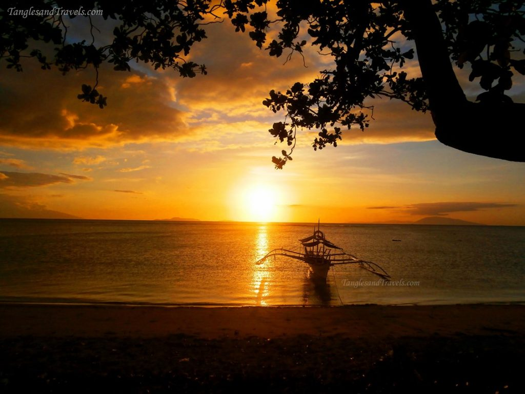 Sunset in Calatagan, Batangas