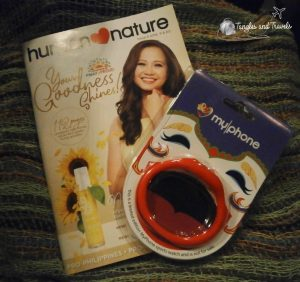 Freebies! Human Nature Magalogue and a Limited Edition Sports Watch by My Phone! <3