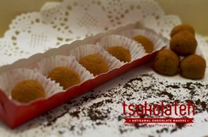 TsokolaTeh Truffles in a Box of 5