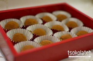 TsokolaTeh Truffles Box of 12 Photo by Loi Manalansan from TsokolaTeh's FB Page