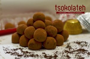 TsokolaTeh's Signature Truffles Photo by Loi Manalansan from TsokolaTeh's FB Page