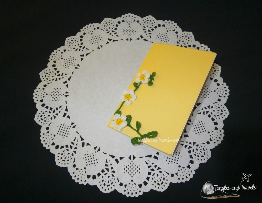 DIY Card with Crocheted Cover Design